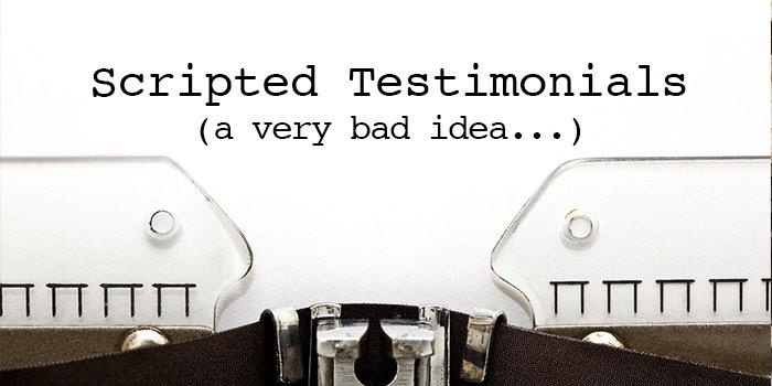 Testimonials Video Script